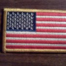 USA FLAG iron-on PATCH united states of america embroidered NEW