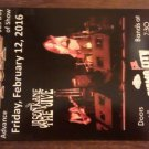 CONCERT FLYER Y&T Jason Kane & the Jive san antonio texas 2016 SALE
