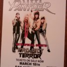 CONCERT FLYER STEEL PANTHER Project Terror danger kitty san antonio texas 2017 SALE