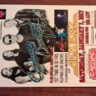 CONCERT FLYER GRAHAM BONNET BAND Alcatrazz rainbow san antonio texas 2016 SALE