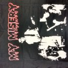 MY MISERY SHIRT red logo ladies V- neck texas punk rock band gokart NEW XL