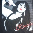 KENZIE SHIRT album art ladies shortie sleeve texas singer kellerman NEW SMALL