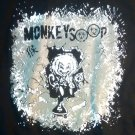 MONKEYSOOP SHIRT Year of the Monkey trooper san antonio texas NEW L