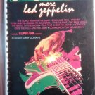 LED ZEPPELIN SONGBOOK More Guitar Superstar Series super-tab song book tablature TAB