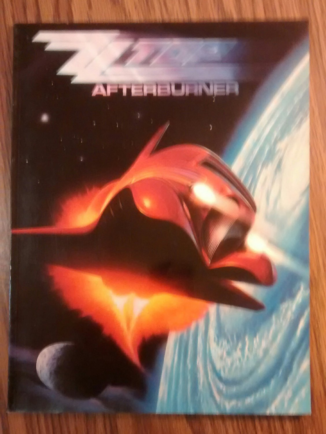 ZZ TOP SONGBOOK Afterburner song book NEW SALE