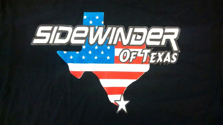 SIDEWINDER SHIRT texas heavy metal rock band of byfist black NEW XL
