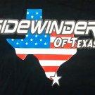 SIDEWINDER SHIRT texas heavy metal rock band of byfist black NEW L