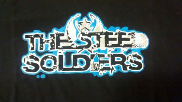 STEEL SOLDIERS SHIRT texas heavy metal rock band texas black NEW XL