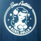SAN ANTONIO REBEL DOLLS SHIRT official rockabilly XXL 2XL NEW
