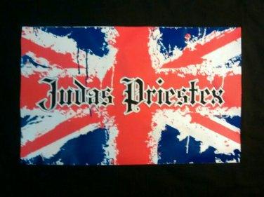 JUDAS PRIESTEX SHIRT heavy metal rock band texas black NEW XL
