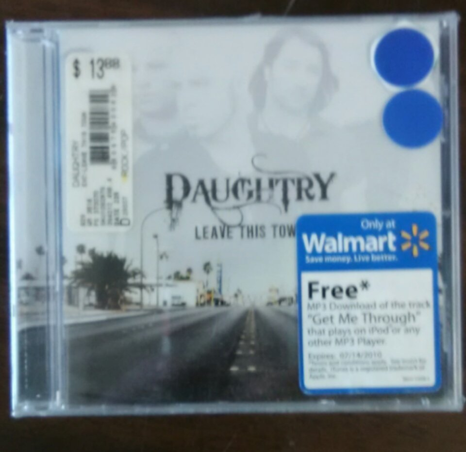 CD DAUGHTRY Leave This Town walmart SEALED
