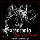 CD SATANTONIO Year of the Demons Texas punk rock metal NEW