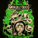 GREEN JELLY SHIRT jello Jurassic park logo NEW M