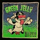 GREEN JELLY SHIRT jello nirvana nevermind cow god logo NEW XXL 2XL