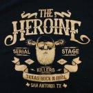 THE HEROINE SHIRT Killers logo san antonio texas NEW XL