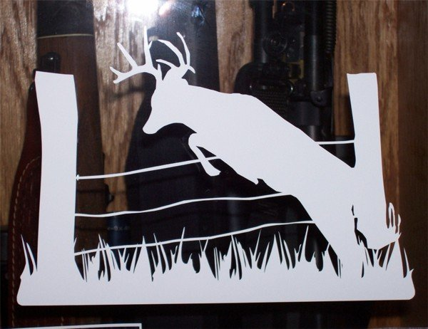 "Buck Jumping Fence - 7""X10"""
