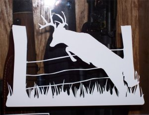 "Buck Jumping Fence - 4""X6"""