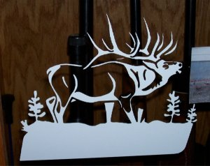 "Elk Bugle-8""X10"""