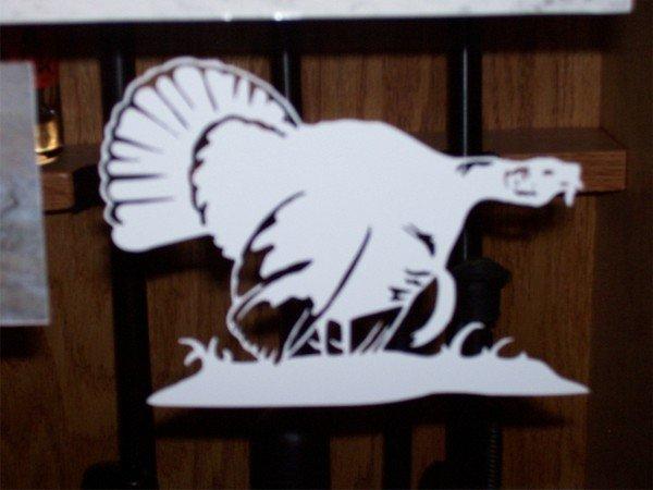 "Gobblin' Turkey-4.5""X6"""