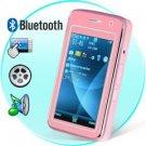 Elegance Dual SIM Quadband Cellphone w/3 Inch Touchscreen (Pink)