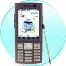 Quad Band Dual SIM Cellphone - Scarlet Motion Media Edition