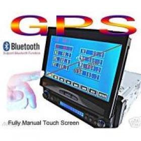 7' LCD MONITOR FM USB DVD VCD TV SD MMC PLAYER 965