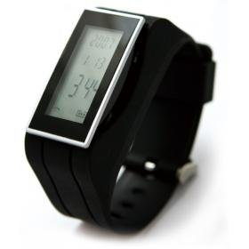 Car Bluetooth watches BAW-100D, LCD display Caller ID, an independent Bluetooth headset