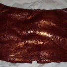 Red and gold snakeskin