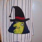 Witch Appliqued Kitchen Towel