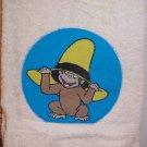 Curious George Kid's Appliqued Towel
