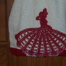 Red Fancy Lady Hand Towel