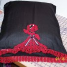 Fancy Lady Pillow Case - Black/Red