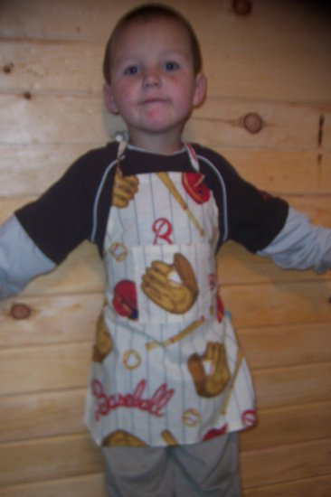 Baseball Child's Chef Apron