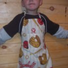 Baseball Child's Chef Apron