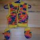 Infant Hunter's Vest & Mittens (9 mos.)
