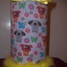Hairband Holder (Puppies with Yellow Trim)