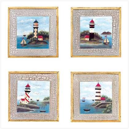 39961 Scenic Coastal Wall Plaques