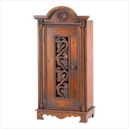 39087 Ivy Vine Curio Cabinet