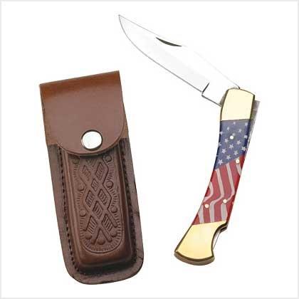 39284 Patriotic Pocket Knife