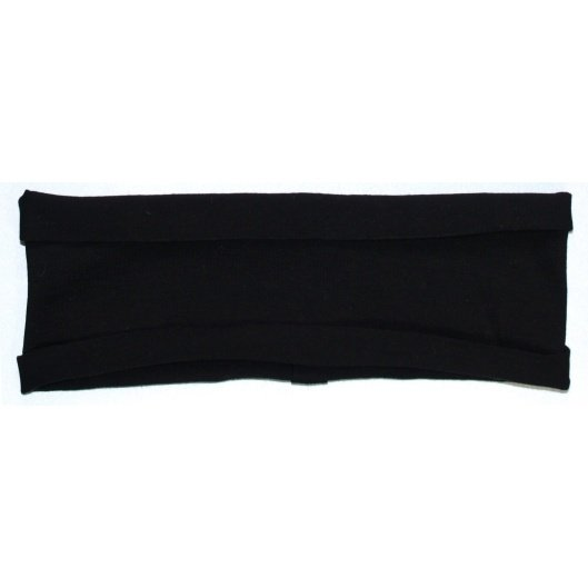 Headband (Black) stretchy hBand for yoga, pilates, exercise, sports, sweatband or any activities