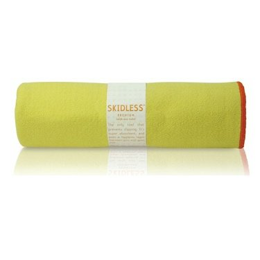 yogitoes SKIDLESS mat towel - yellow