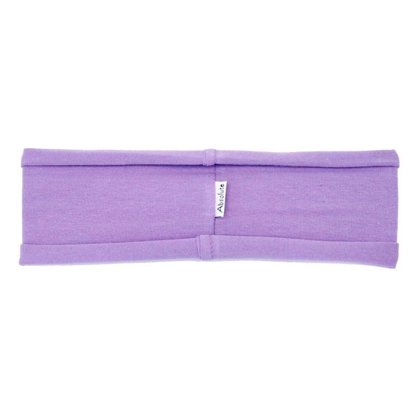 Lavender stretchy hBand - cotton/lycra headband for yoga, pilates, exercise, sports, sweatband