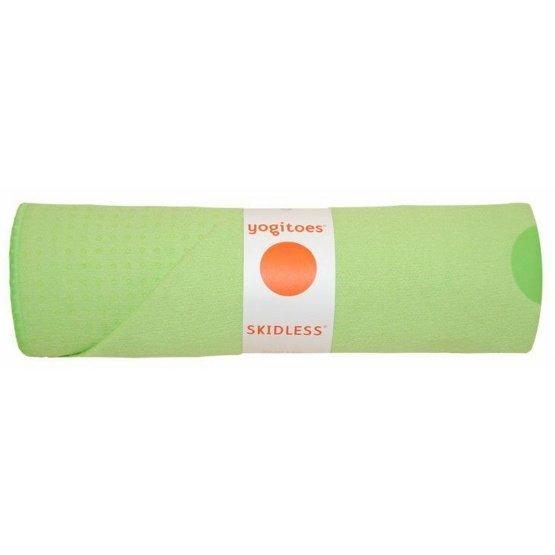 yogitoes SKIDLESS mat towel - Kiwi (Tropical Collection)