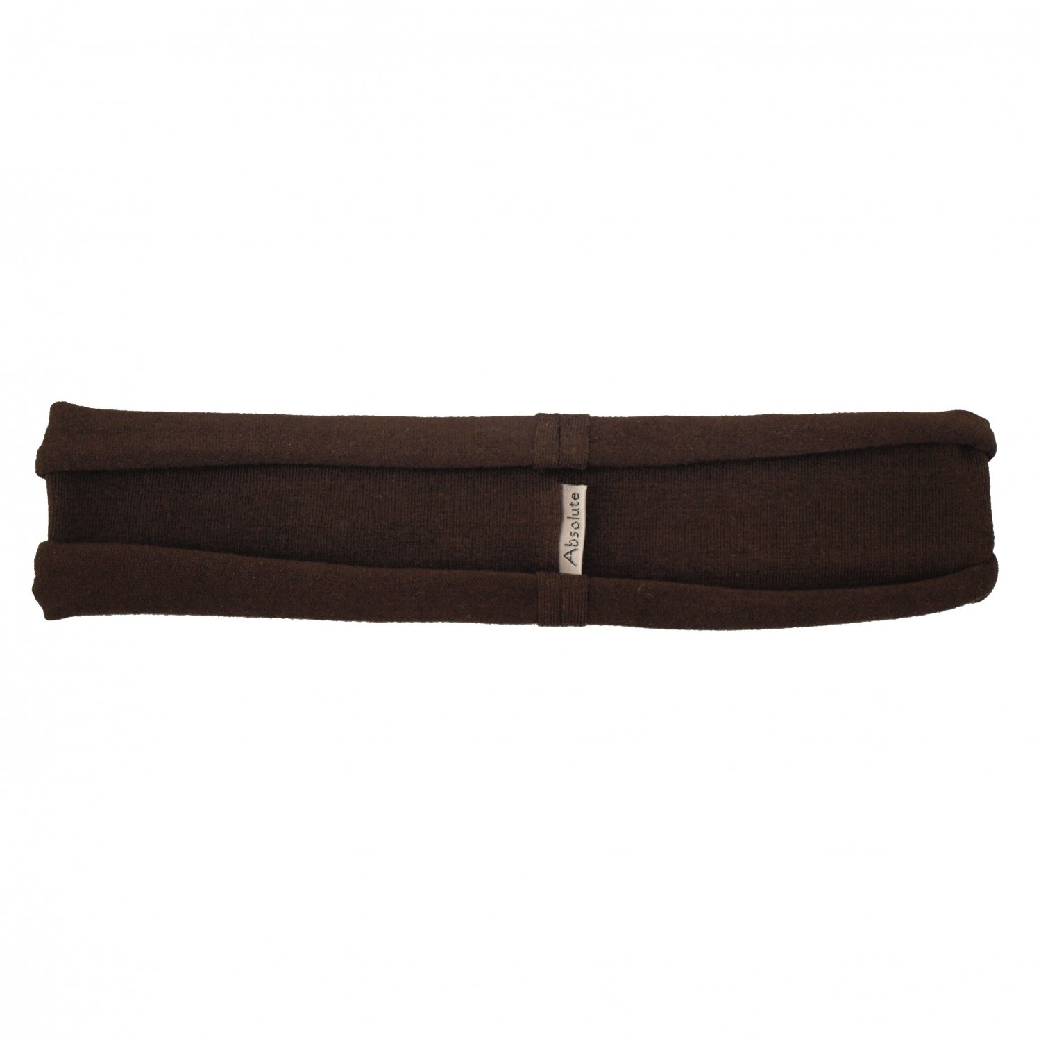 Dark Brown stretchy hBand - cotton/lycra headband for yoga, pilates, exercise, sports, sweatband