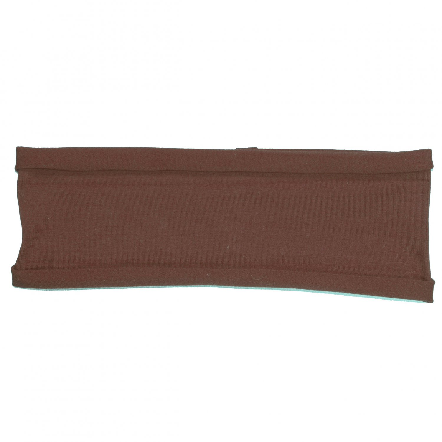 Brown stretchy headband for yoga, pilates, exercise, sports, sweatband or any activities