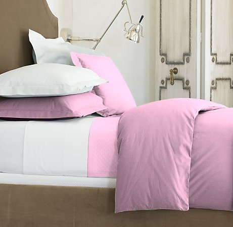 100 % Egyptian Cotton Color  Lilac 600 TC King Size Solid Sheet Set.