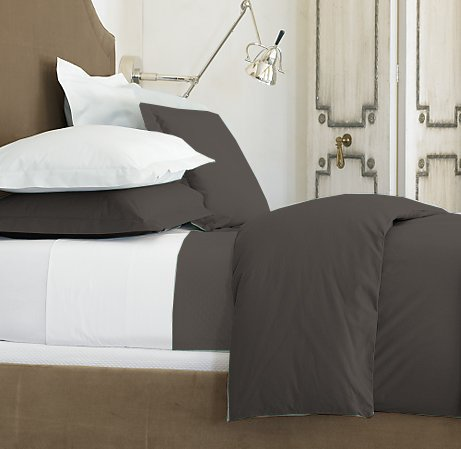 100 % Egyptian Cotton Color  Black 1500 TC Queen Size Solid Sheet Set.
