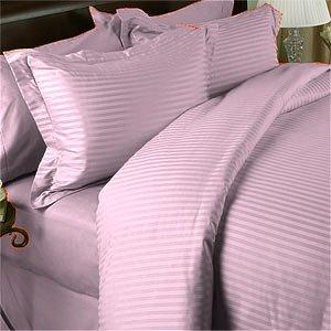 100 % Egyptian Cotton Color  Petal 1500 TC Queen Size Solid Sheet Set.