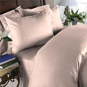 100% Egyptian Cotton, Color Rose TC 1500 Size Queen Duvet Cover.