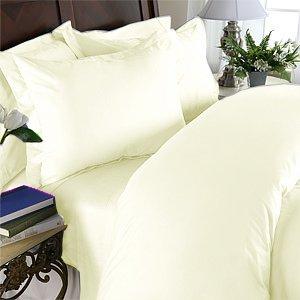 100% Egyptian Cotton, Color Cameo, TC 1200 Size Queen Duvet Cover.
